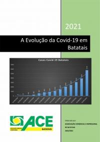 A evolução da Covid-19 em Batatais